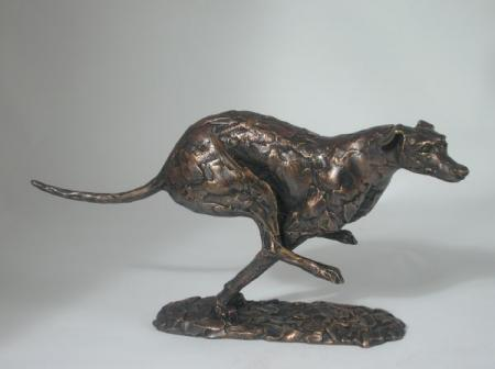 Frith Sculptures by Paul Jenkins Running Greyhound Sculpture