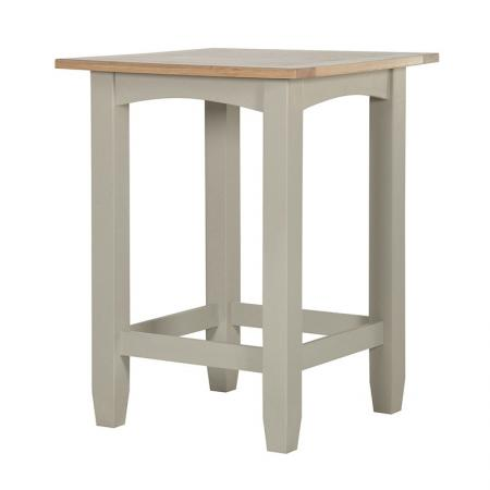Cream Wood Wexford Small Bar Table