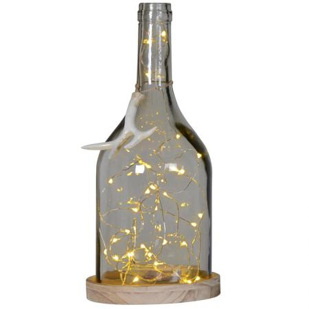 Funky 30 Led Lights In Bottle / Table Lamp