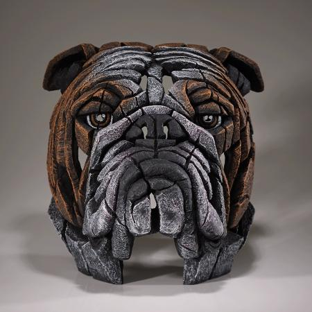 EDGE Sculpture - British Bulldog Bust
