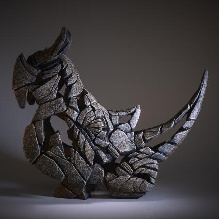 EDGE Sculpture - Rhinoceros Bust