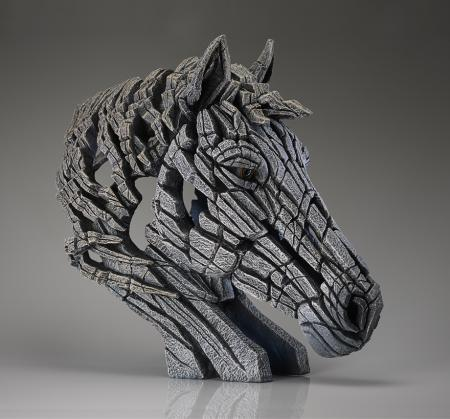 EDGE Sculpture - White - Horse Bust