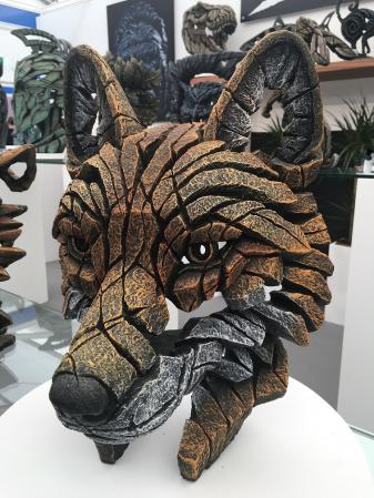 EDGE Sculpture - Fox Bust