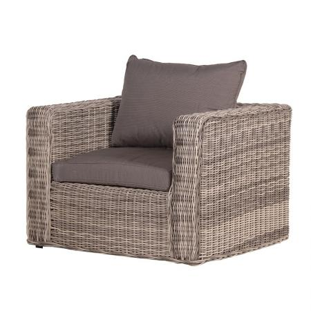 Rattan Armchair With Cushions / Garden Furniture