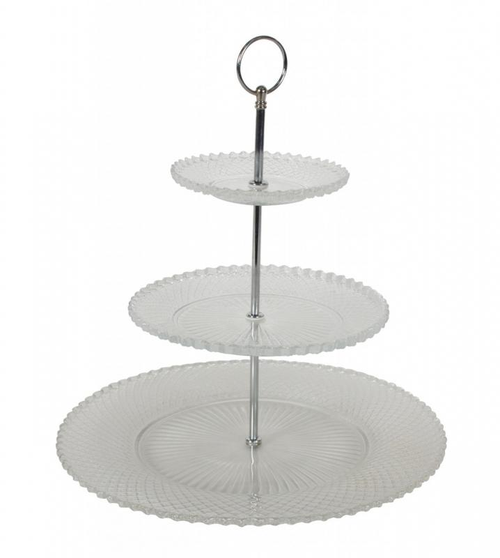 Buceta que vintage glass cake stand love you