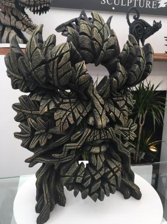 EDGE Sculpture - Green Man