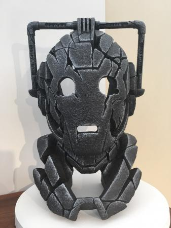EDGE Sculpture - Doctor Who Cyberman Bust