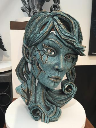 EDGE Sculpture - Wood Elf - Aqua Water Nymph
