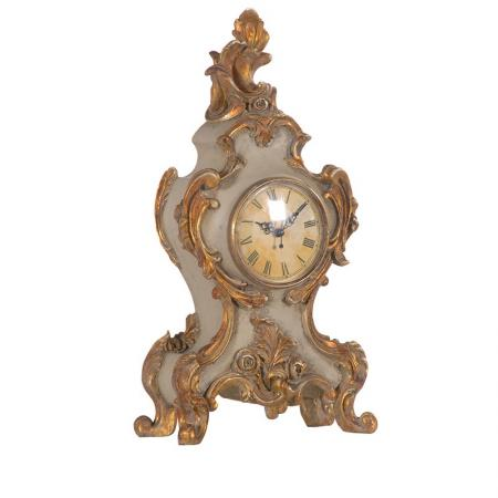 Antique Style Gold Ornate Mantel Clock