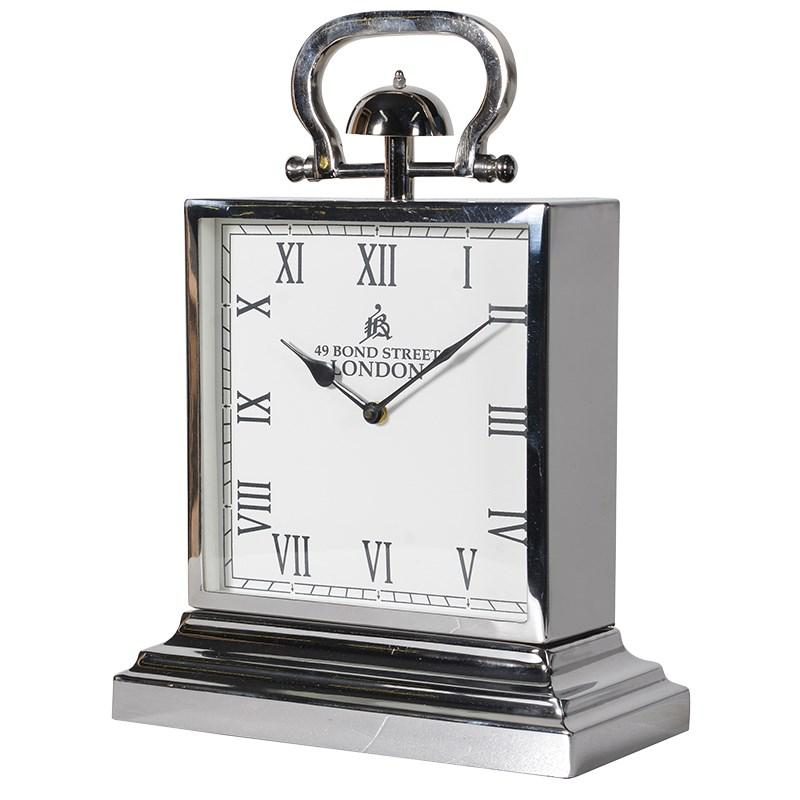 Large Chrome Square Steel Mantel Clock Mulberry Moon : lglarge chrome square steel mantel clock4 from www.mulberry-moon.co.uk size 800 x 800 jpeg 53kB