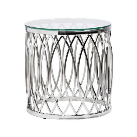 Apri Chrome Design End /Side Table