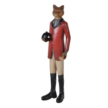 'Tally-Ho' Dressed Hunting Fox Sculpture