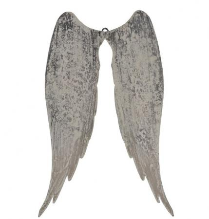 Hanging Angel Wings Wall Sculpture