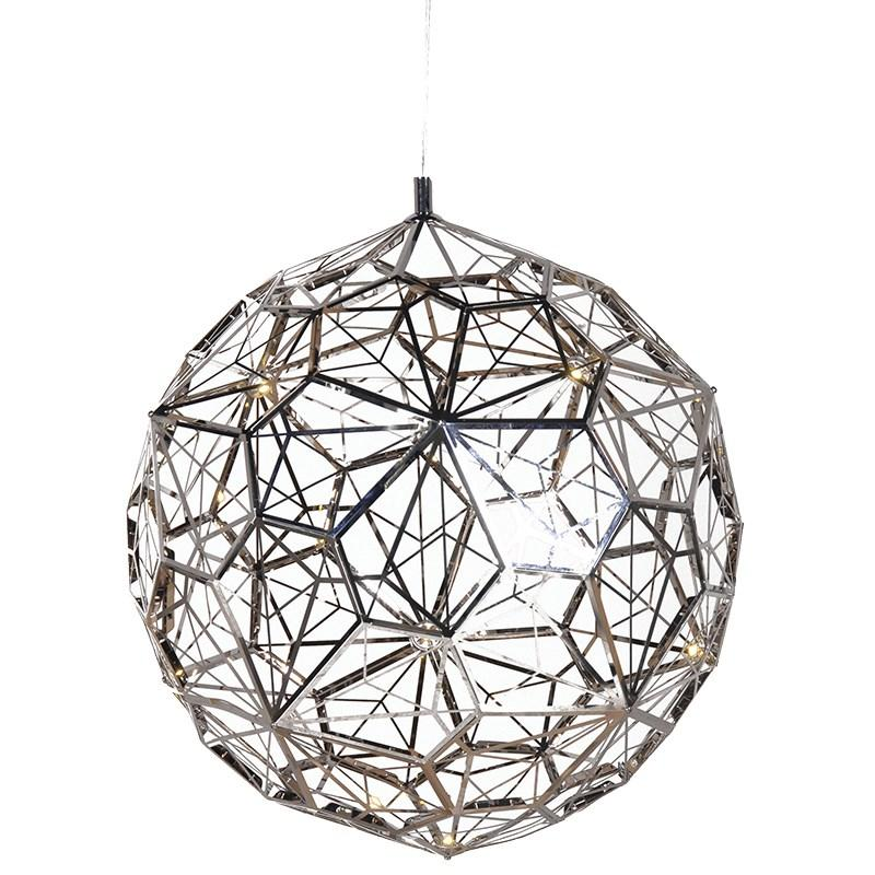 Contemporary Steel Led Cut-Out Ceiling Light