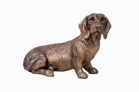 Rudi - Dachshund - Bronze Dog Sculpture by Harriet Dunn