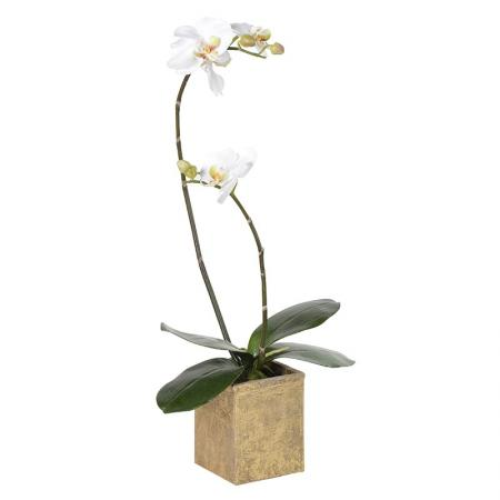Artificial Orchid Phalaenopsis Plant In Pot