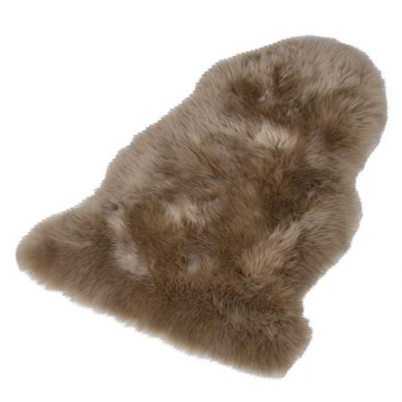 Brown /Taupe Sheepskin Rug