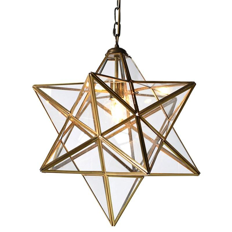Gold glass star pendant light mulberry moon gold glass star pendant light availability in stock mozeypictures Choice Image
