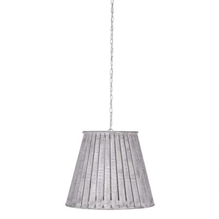 Large White-Wash Pendant Ceiling Light