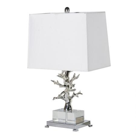 Contemporary Acrylic Tree Lamp With Shade
