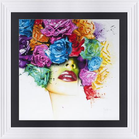 Patrice Murciano - Girl With Flowered Hair