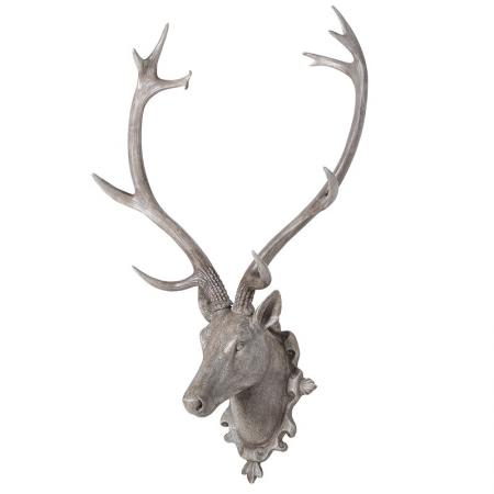 Extra Large Wall Hanging Deer Head Sculpture