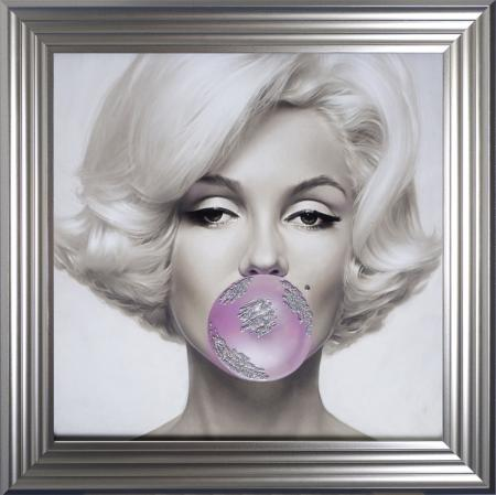 Marilyn Monroe Bubble Gum Artwork