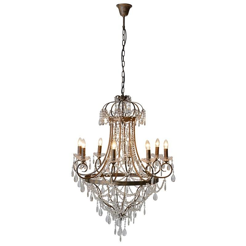 Extra large vintage glass droplets chandelier mulberry moon extra large vintage glass droplets chandelier mozeypictures Gallery