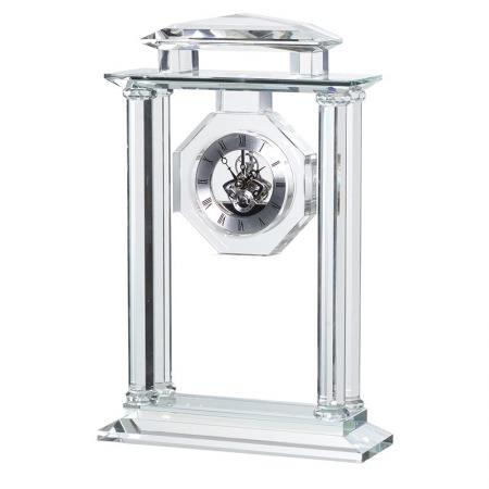 Glass & Crystal Carriage Clock