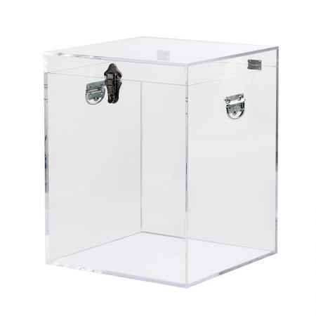 Square Clear Acrylic Trunk / Side Table