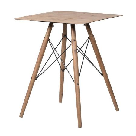 Small Square Laminate Top Table