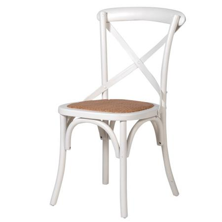 Gainsborough Cream Cross Back Padded Dining Chair
