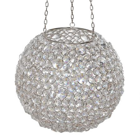 Crystal Ball Candle Holder Lantern
