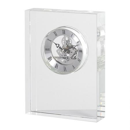 Heavy Crystal Mantel Clock