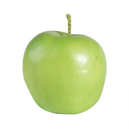 12 x  Artificial Apples 'Granny Smith' / Display