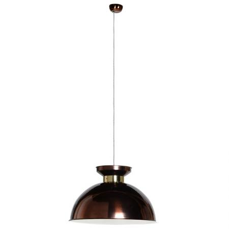 Large Brown & Gold Hanging Pendant Light