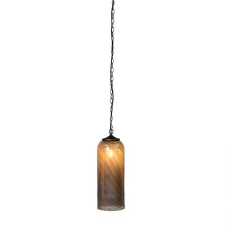 Brown Glass Ceiling Pendant Light