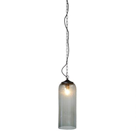 Grey Glass Ceiling Pendant Light
