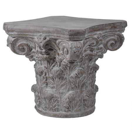 Large Stone Effect Pedestal / Plant Stand