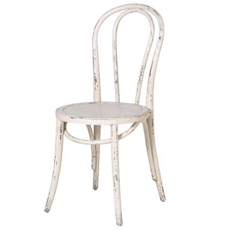 Cream Loop Back Shabby Chic Dining Chair