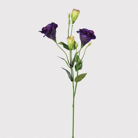 12 x Artificial African Violet Lisianthus Spray Stems