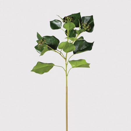 6 x Artificial Natural Ivy Leaf Stems