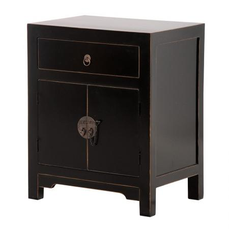 Shanxi Black Bedside / Lamp Table