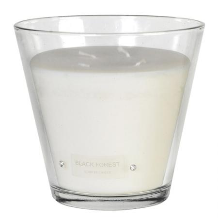 Large 4 Wick Diamante Boxed Candle