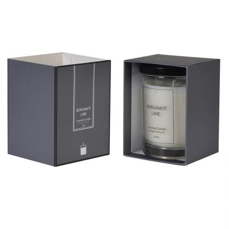 Boxed Bergamot & Lime Candle