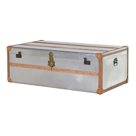 Large Aluminium Storage Trunk/Coffee Table