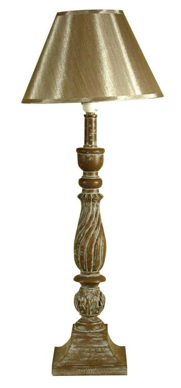 french style tall carved wooden table lamp gold shade mulberry moon. Black Bedroom Furniture Sets. Home Design Ideas