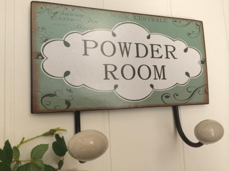 Powder Room Wall Bathroom Hooks