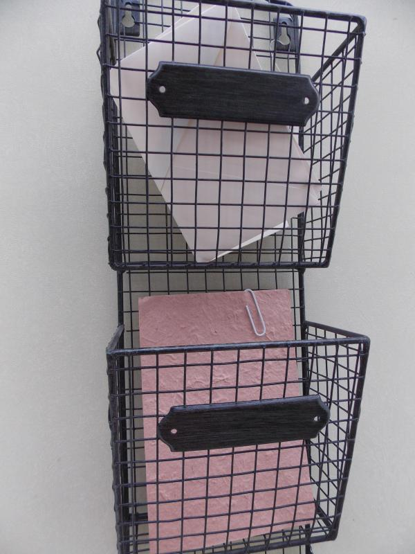Wire Wall Mounted Post/Letter Rack. Availability: Oops! just sold out,  please contact us for updates