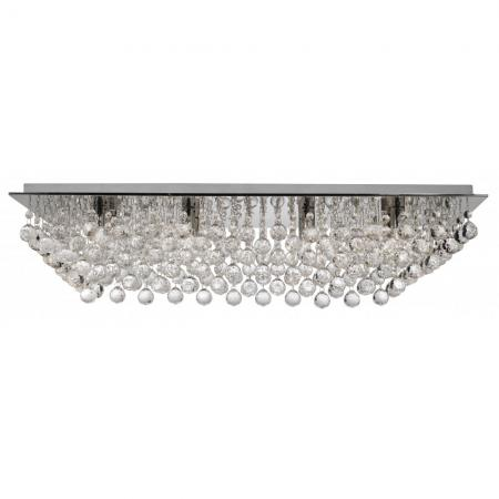 Hanna Rectangular Semi Flush Light Fitting